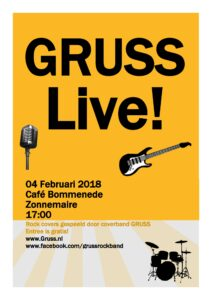 Gruss 4 februari 2018 Cafe Bommenede