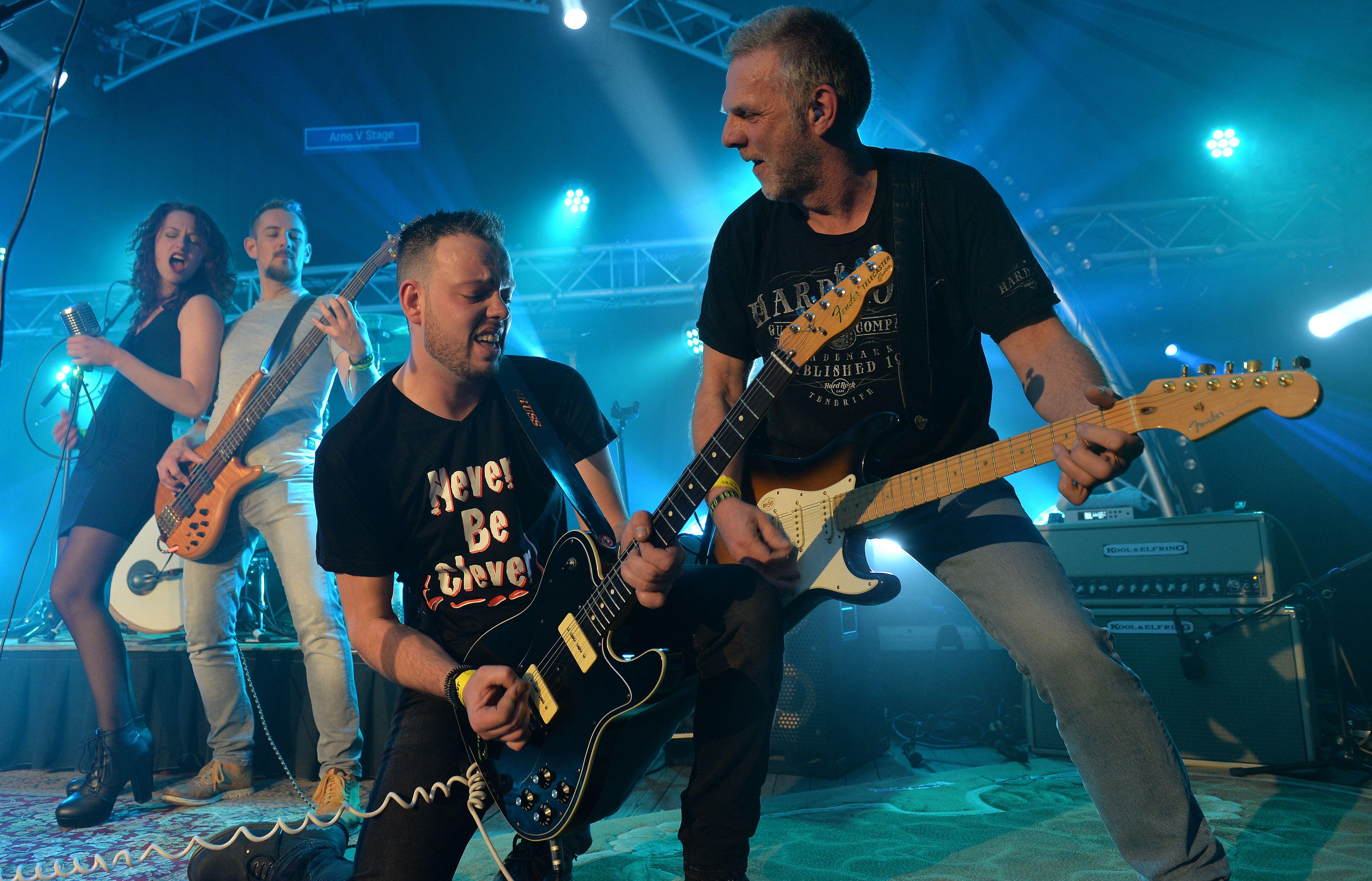 Gruss live op Wijnfeest Dreischor 2017